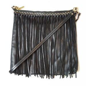 Badgley Mischka Fringe Bag